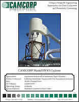 Project profile about aspiration system of industrial paper shredder with cyclone dust collection of chemicals