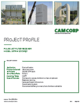 Pulse jet dust collector project profile