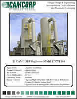 Read project profile about low pressure reverse air dust collector collecting granite fines