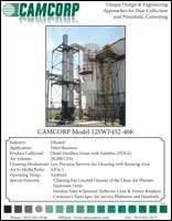 A low pressure reverse air dust collector collecting DDGS at ethanol plant project profile