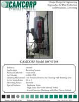 A low pressure reverse air dust collector for grain receiving at ethanol plant project profile
