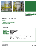 8PRTW52 Pulse Jet Filter Receiver CAMCORP