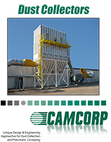 About CAMCORP dust collectors brochure