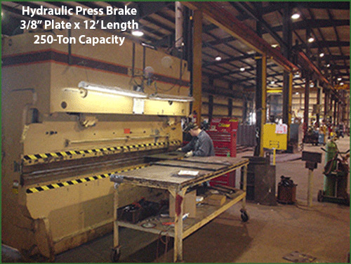 CAMCORP manufacturing hydraulic press brake
