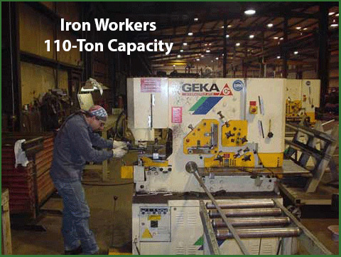 CAMCORP manufacturing Iron Workers