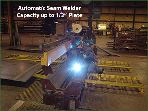 CAMCORP manufacturing seam welder