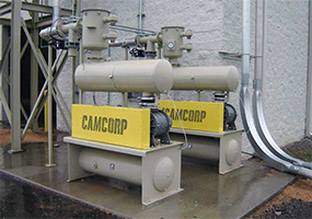 Two CAMCORP blower packages