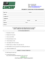 CAMCORP-pneumatic-conveying-worksheet