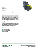 CAMCORP-BCHS-Backward-Curved-fan