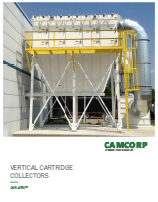 Read about the CAMCORP vertical cartridge CAM-AIRO dust collector