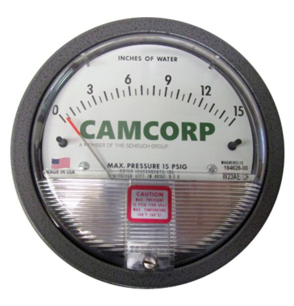 CAMCORP-magnehelic-gauge