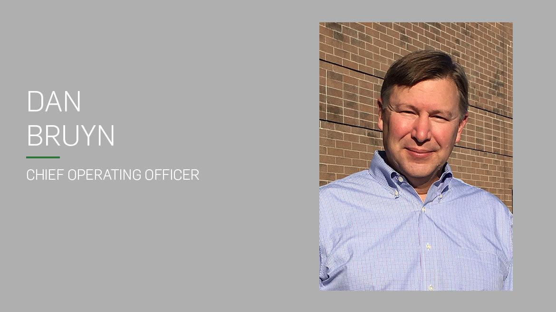 Dan Bruyn chief operating officer