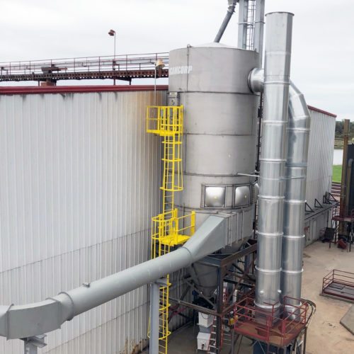 camcorp stainless steel ddgs ethanol dust collector